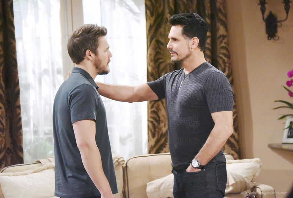 Liam and Bill on The Bold and the Beautiful