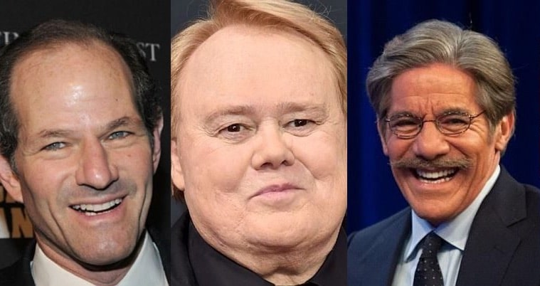 Geraldo Rivera, Louie Anderson and Eliot Spitzer on Real Time with Bill Maher