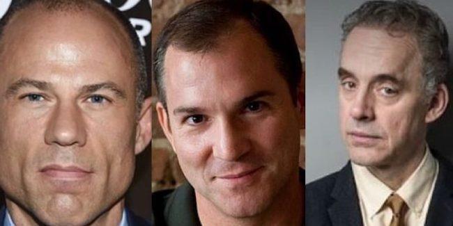 Michael Avenatti, Frank Bruni and Jordan Peterson