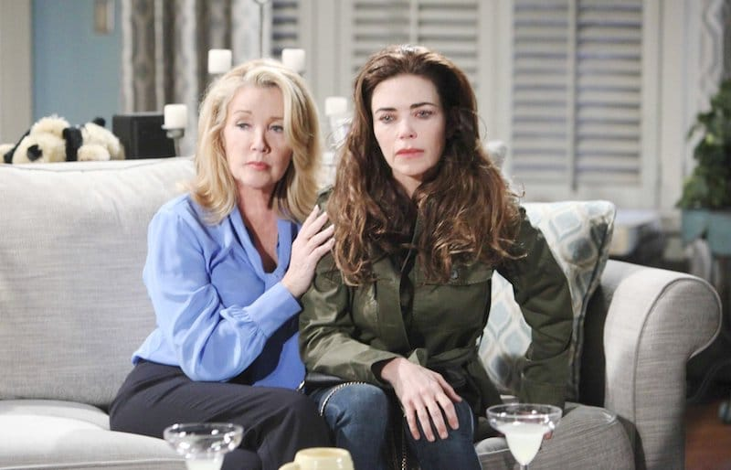 Nikki and Victoria on The Young and the Restless