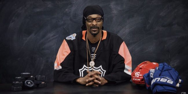 Lip lettuce and chiclets: Snoop Dogg schools everyone on NHL hockey lingo