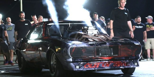Reaper racing on Street Outlaws