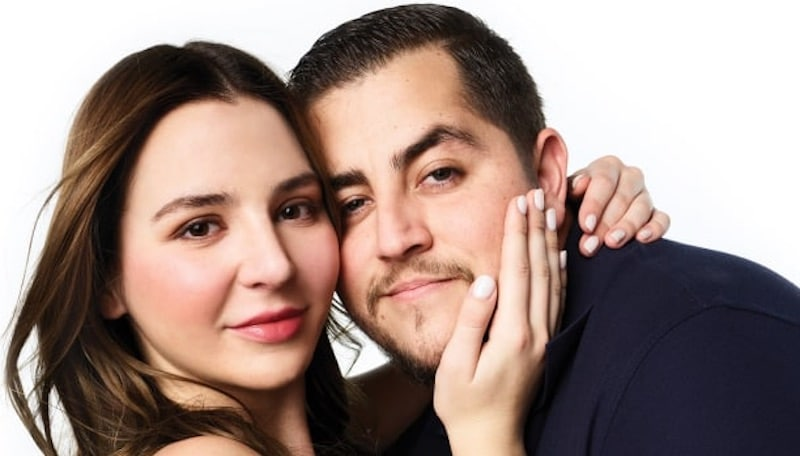 Jorge and Anfisa promoting 90 Day Fiance: Happily Ever After? Season 3