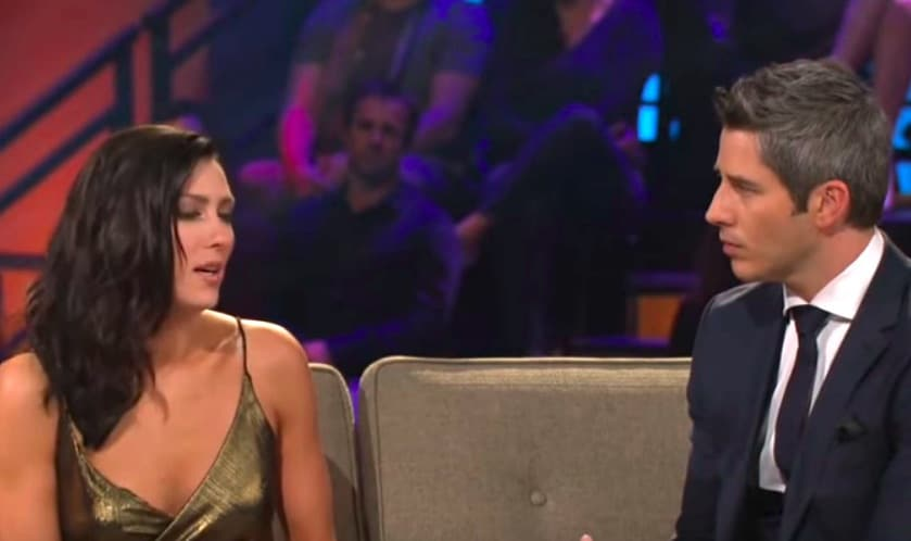 Becca Kufrin and Arie Luyendyk Jr. on The Bachelor