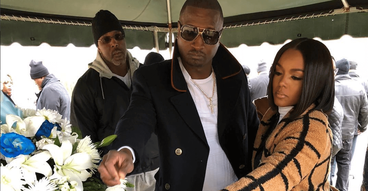 Kirk Frost Rasheeda Love & Hip Hop Atlanta Gloria Frost's funeral