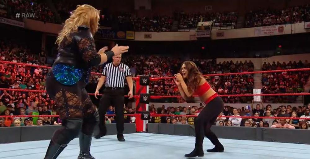 Who is Michelle Webb, the wrestler bullied by Nia Jax on WWE Raw?
