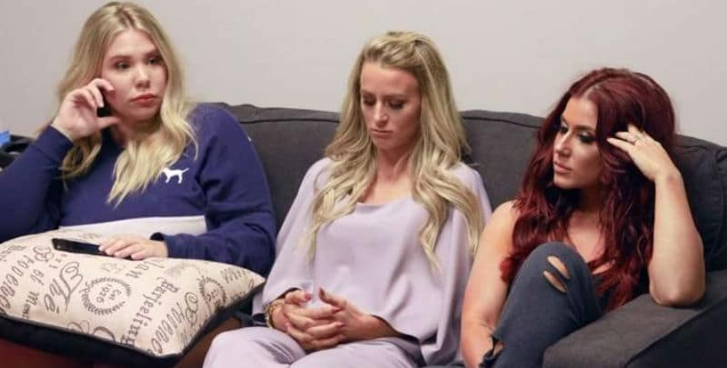Kailyn Lowry, Leah Messer, Chelsea Houska from Teen Mom 2
