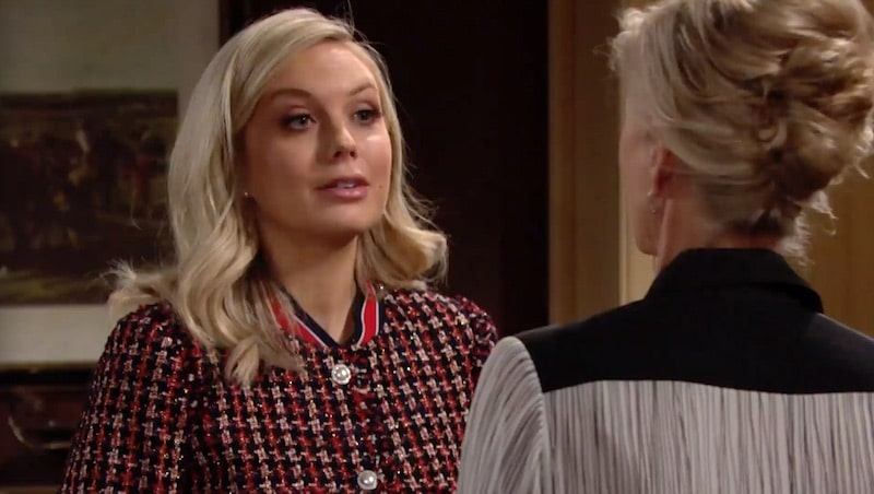 Abby on The Young and the Restless