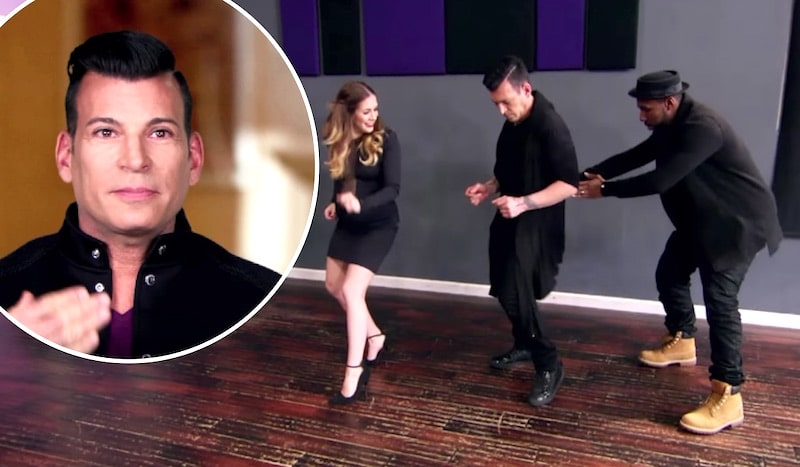 """David Tutera and, inset, Stephen """"tWitch"""" Boss with his hands on his hips"""