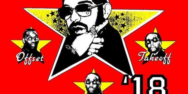 Drake and Migos 'Aubrey & The Three Amigos' tour poster