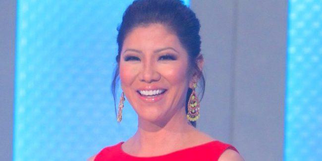 Julie Chen presenting Big Brother
