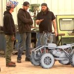 Clint and the 'Crab Crawler' on Discovery's Last Outpost