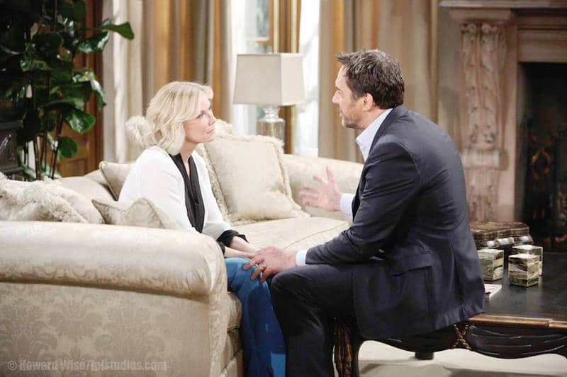 Brooke and Ridge on The Bold and the Beautiful