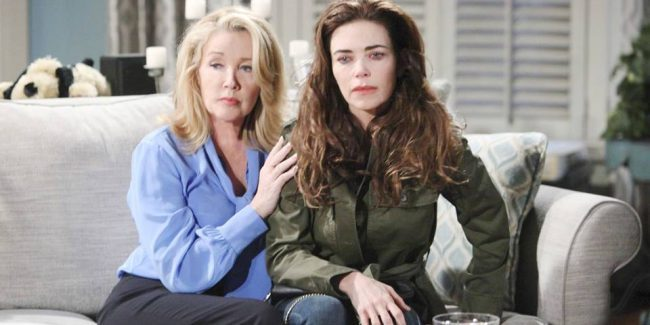 Victoria with Nikki on The Young and the Restless