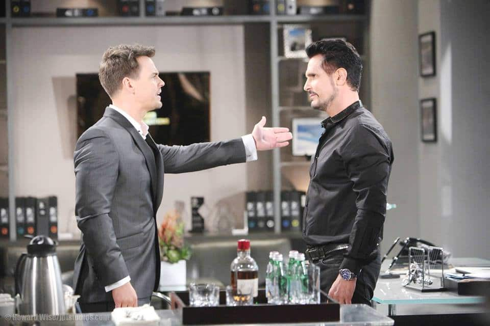 Wyatt and Bill on The Bold and the Beautiful