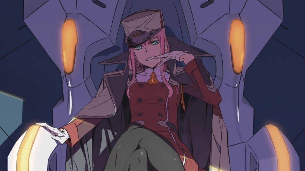Darling In The FranXX Anime Zero Two Throne