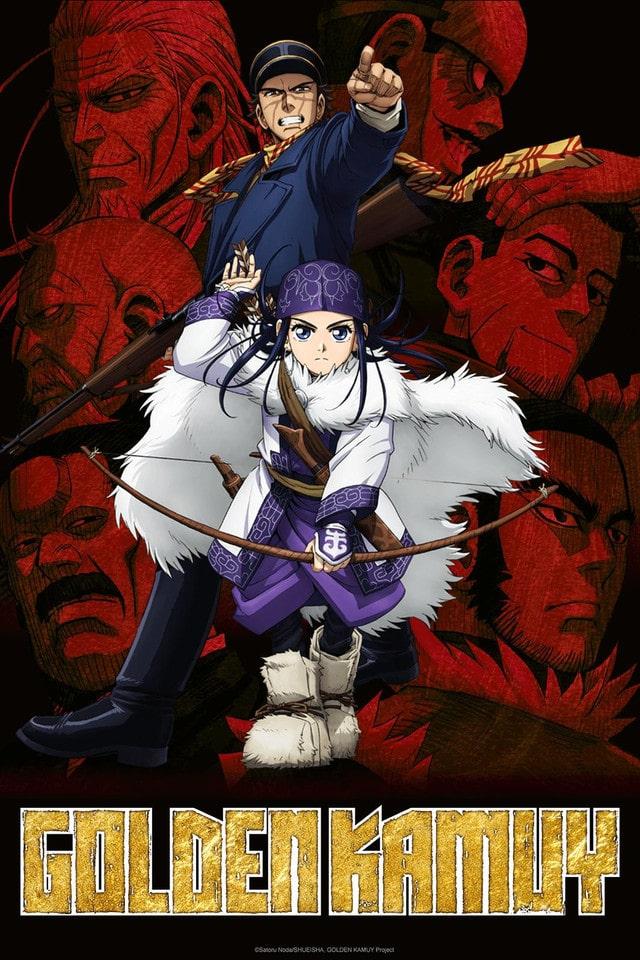 Golden Kamuy Anime Poster