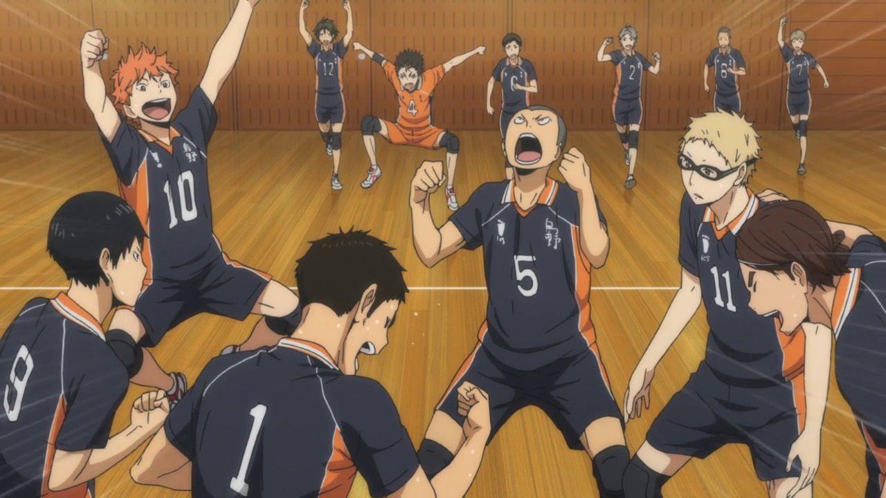 Haikyuu Characters Karasuno Boys