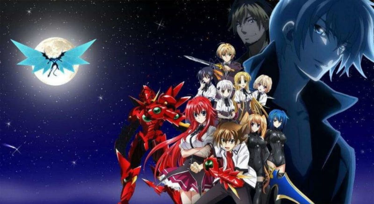 Image result for high school DXD