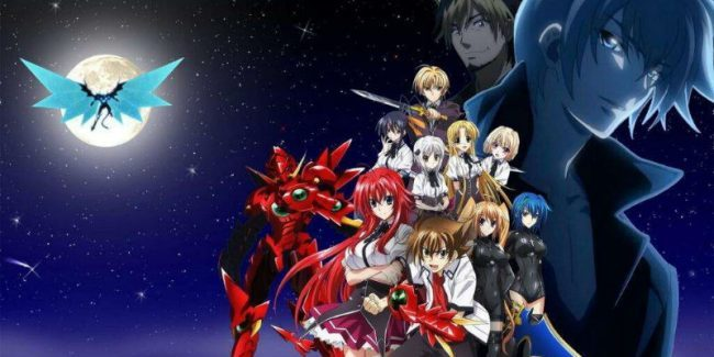 Highschool DxD Season 5 release date (Highschool DxD Hero Season 2) High School DxD manga light novels compared to the anime's story arc