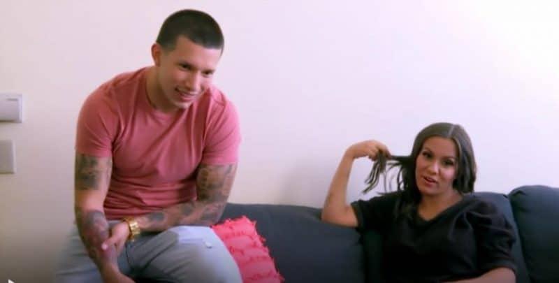 Briana and Javi filming Teen Mom 2