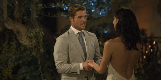 The fight between Jordan Kimball and David Ravitz on The Bachelorette