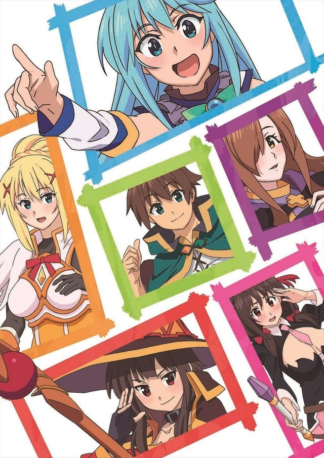 KonoSuba Movie Key Visual 2018