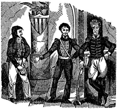 Lafitte, W.C.C.Claiborne and General Andrew Jackson during the War of 1812