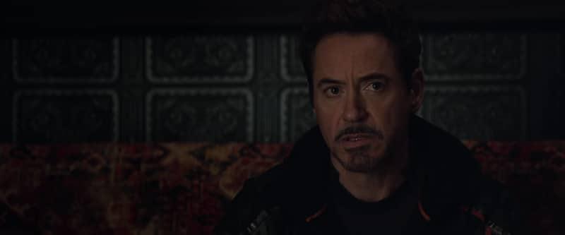Robert Downey Jr as Iron Man in Avengers:Infinity War