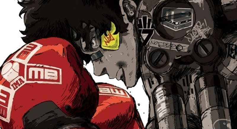 Megalo Box key art