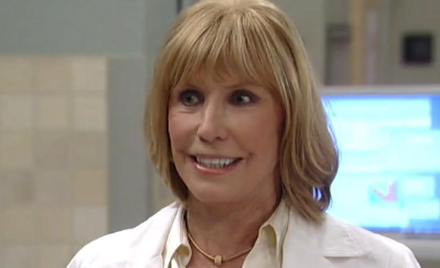 Leslie Charleson as Monica Quartermaine on General Hospital