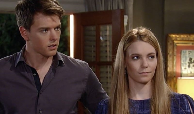 Michael and Nelle on General Hospital