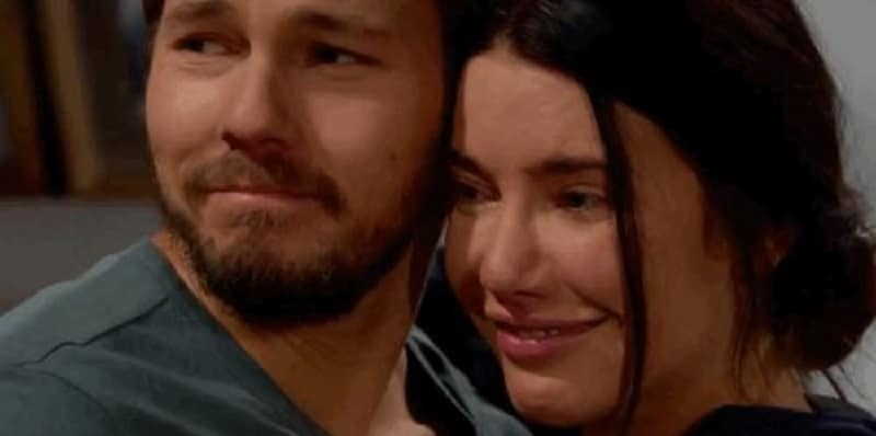 Liam and Steffy on The Bold and the Beautiful