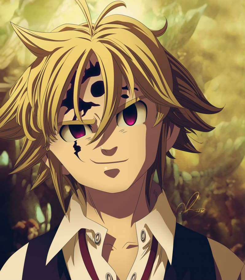 The Seven Deadly Sins Manga Chapter 198 Demon Meliodas Evil