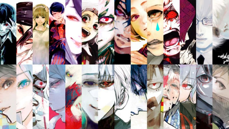 Tokyo Ghoul re Manga Volume Covers