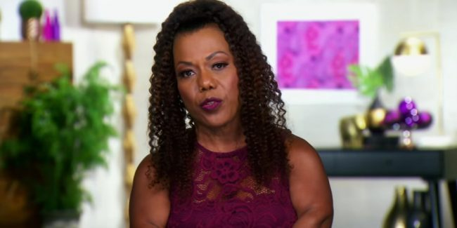 Tonya Banks of Little Women: LA in the confessional