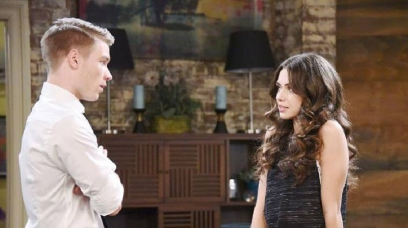 Ciara and Tripp from Days of our Lives.