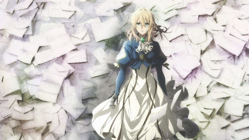 Violet Evergarden Season 2 release date on Netflix New anime project, OVA episode confirmed in 2018 Violet Evergarden ending for Major Gilbert explained Manga Light Novel Spoilers