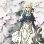 Violet in the Violet Evergarden anime