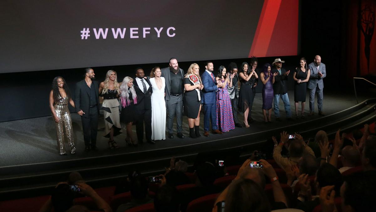 What is the WWE FYC? The Rock, Ronda Rousey and more promoting WWE Emmy consideration