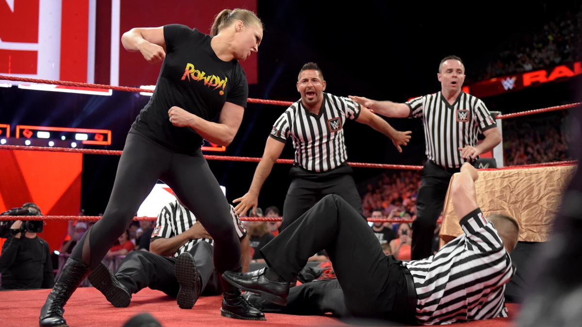 WWE Raw results: Grades, Ronda Rousey suspension and Dolph Ziggler win