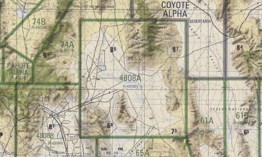 Area 51 map