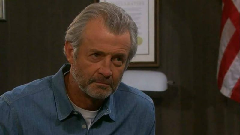 Clyde played by James Read on Days of our Lives