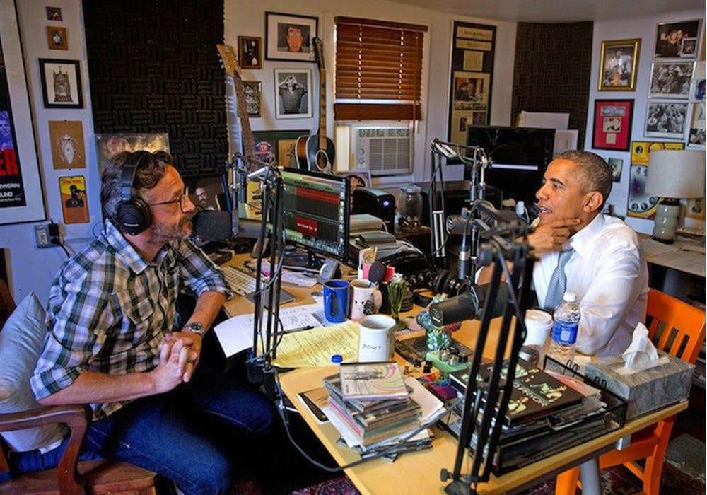 Marc Maron, Barack Obama
