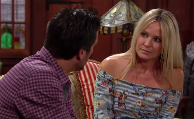 Nick and Sharon on The Young and the Restless this week