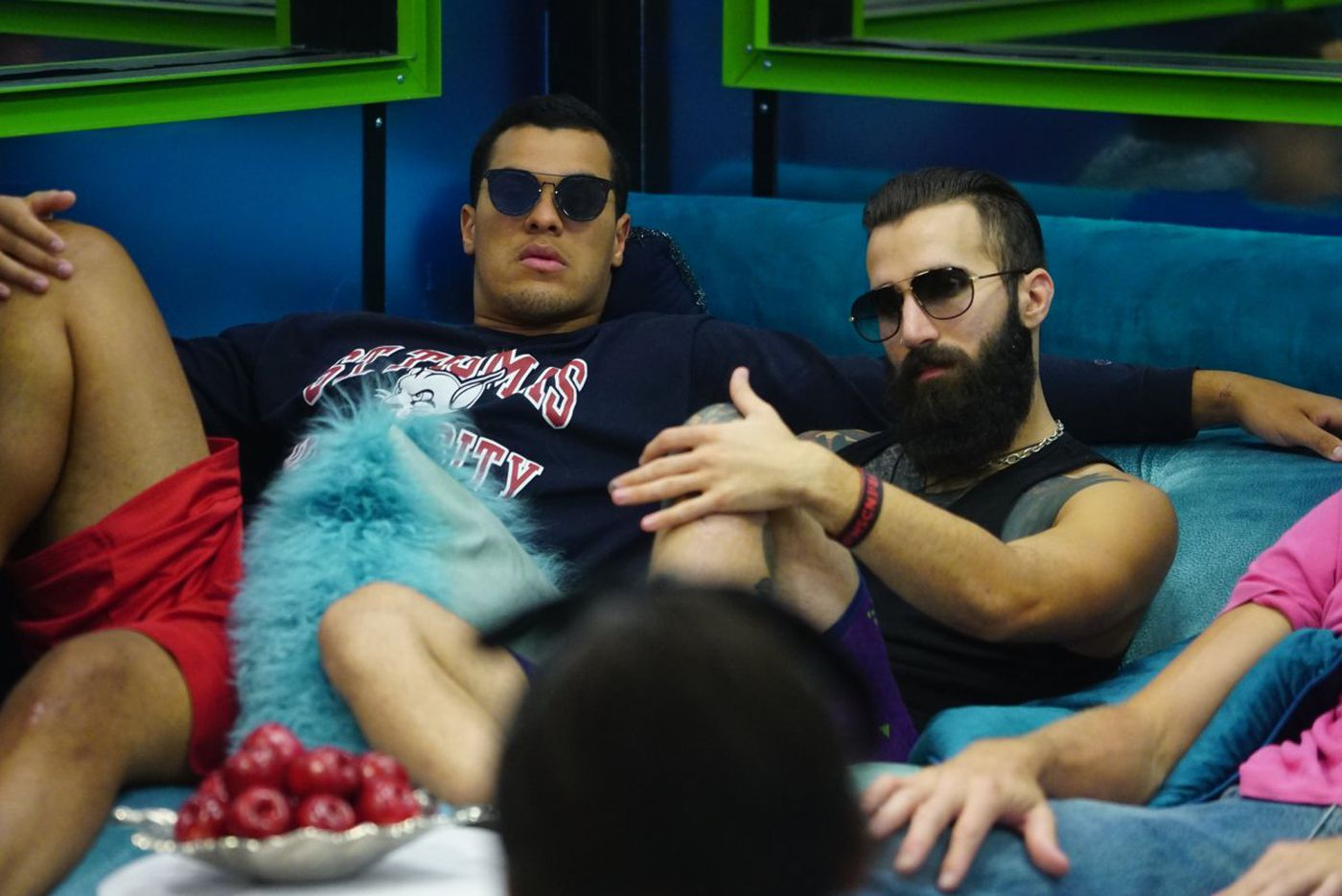 Josh Martinez and Paul Abrahamian on Big Brother 19.