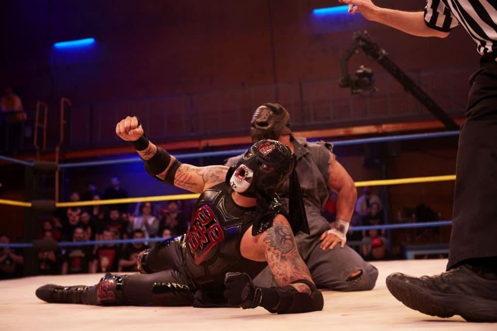 Pentagon Dark in the ring on Lucha Underground