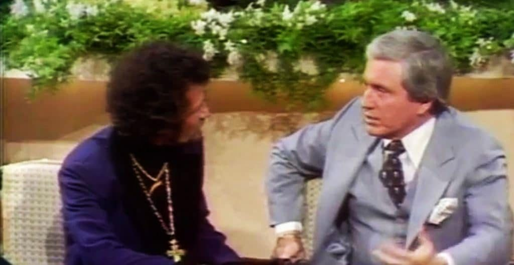 Roger Miklos and Merv Griffin, circa March 1978