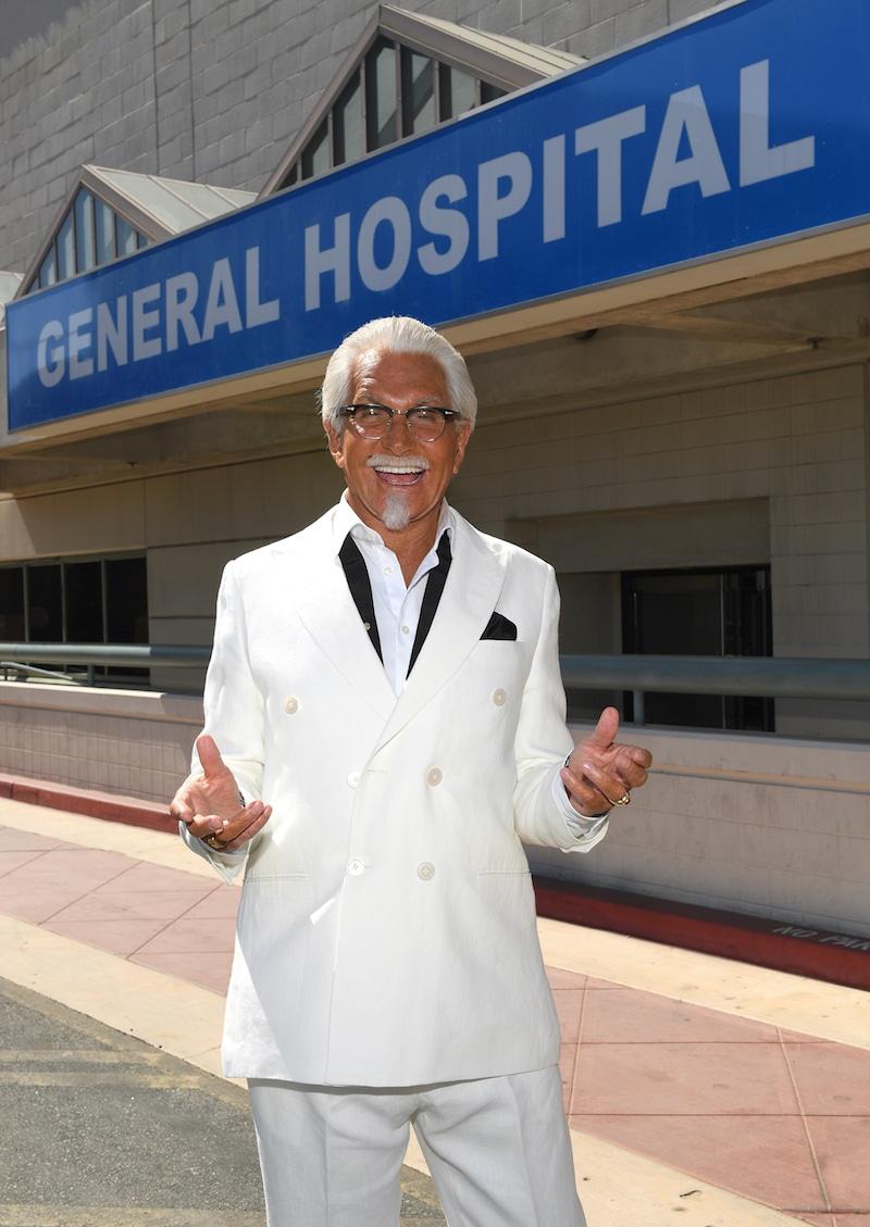 George Hamilton on General Hospital