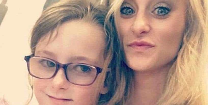 Leah Messer would do anything for her daughter Ali Simms. Pic Credit:  Instagram